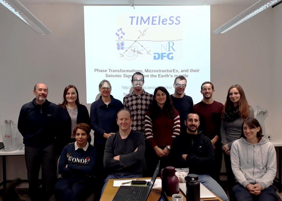 TIMEleSS startup meeting in Münster, October 2018