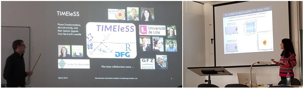 TIMEleSS student talks in Münster, January 2019