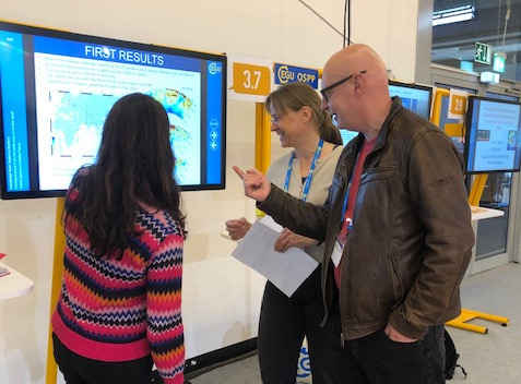 Frederica Rochira at EGU 2019 in Vienna