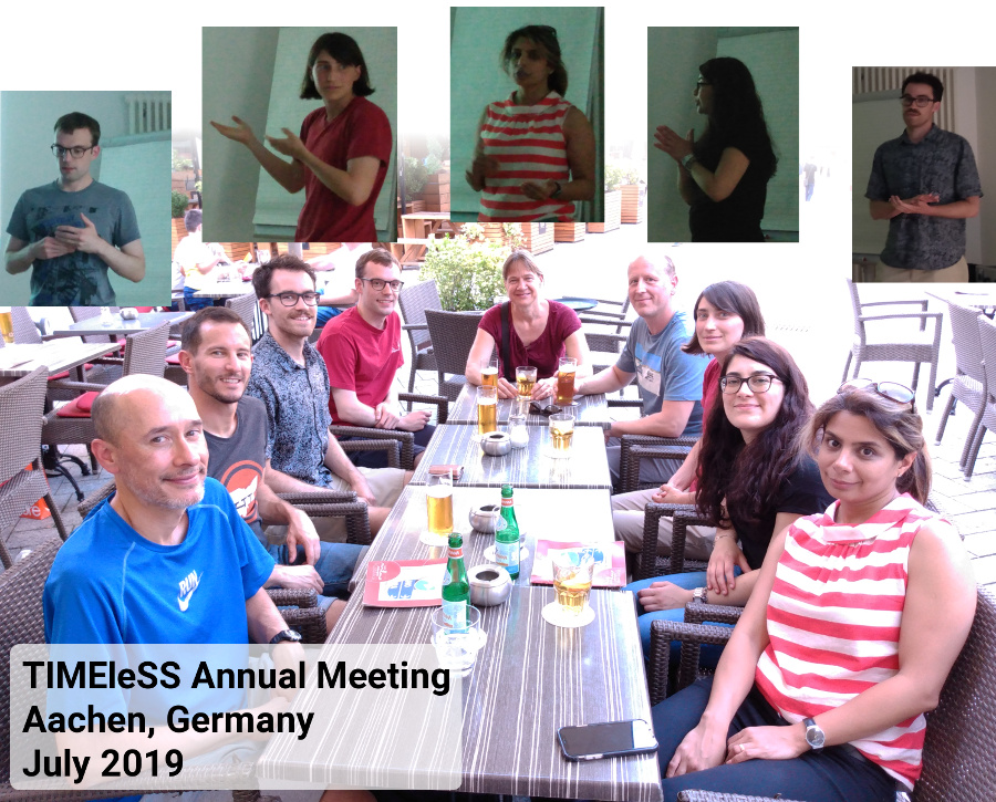 TIMEleSS Annual Meeting, Aachen, Germany, July 2019