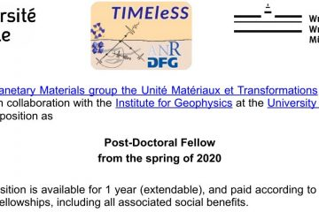 Post-doc position on wave propagation in structures and microstructures at the University of Lille, France